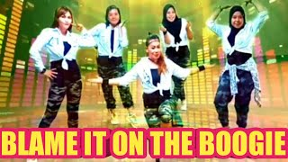 BLAME IT ON THE BOOGIE - THE JACKSONS - WARM UP - ZIN ZUMBA