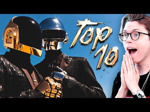 GOODBYE Daft Punk : Their TOP 10 Songs