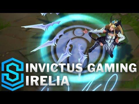 Invictus Gaming Irelia Skin Spotlight - League of Legends
