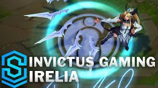 Invictus Gaming Irelia Skin Spotlight - League of Legends
