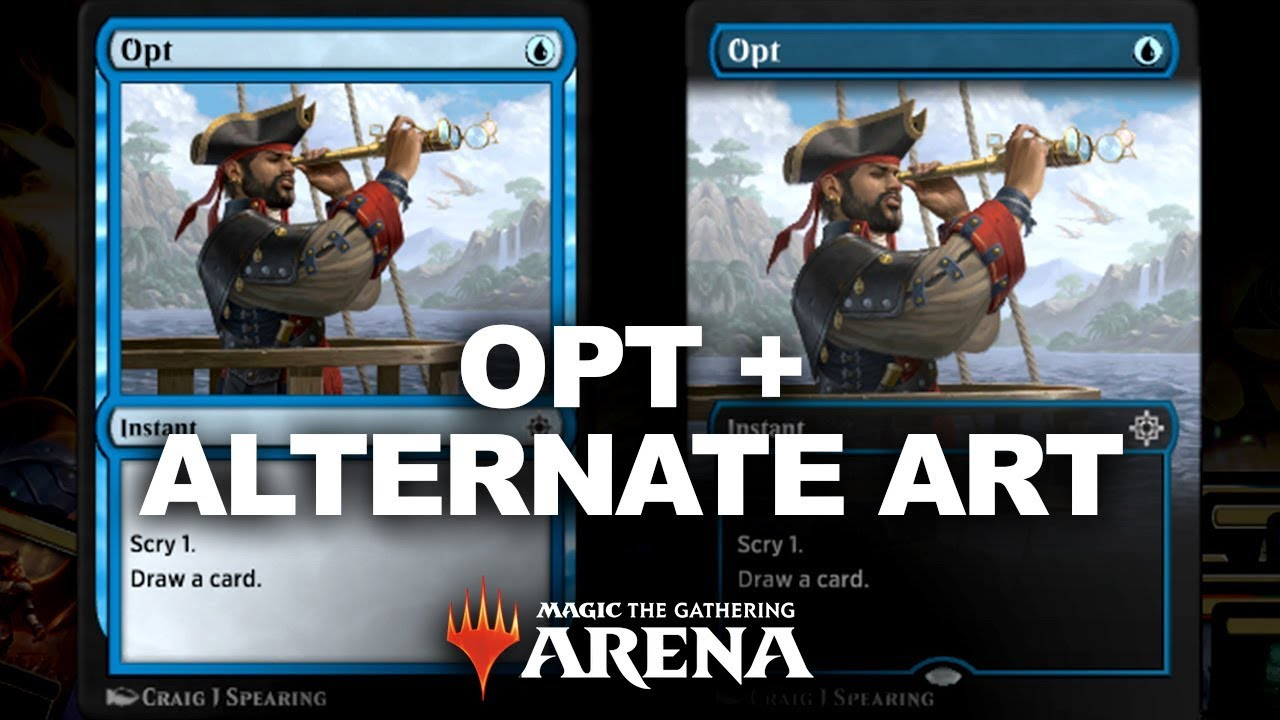 REDEEM CODE FOR OPT ALTERNATE ART! Magic Arena