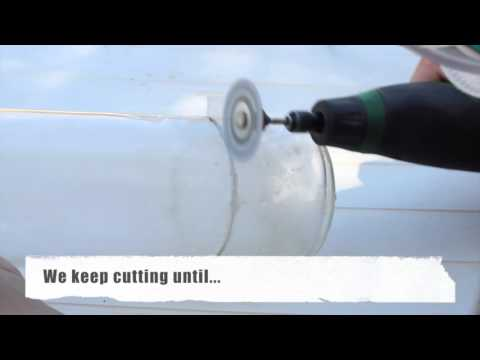 how to cut glass without a glass cutter