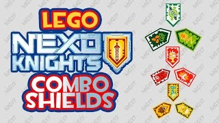 Lego Nexo Knights Combo Powers Shields - Scan and Fight!
