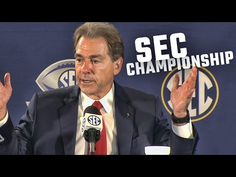 Nick Saban responds to claims Alabama hasn't played anyone