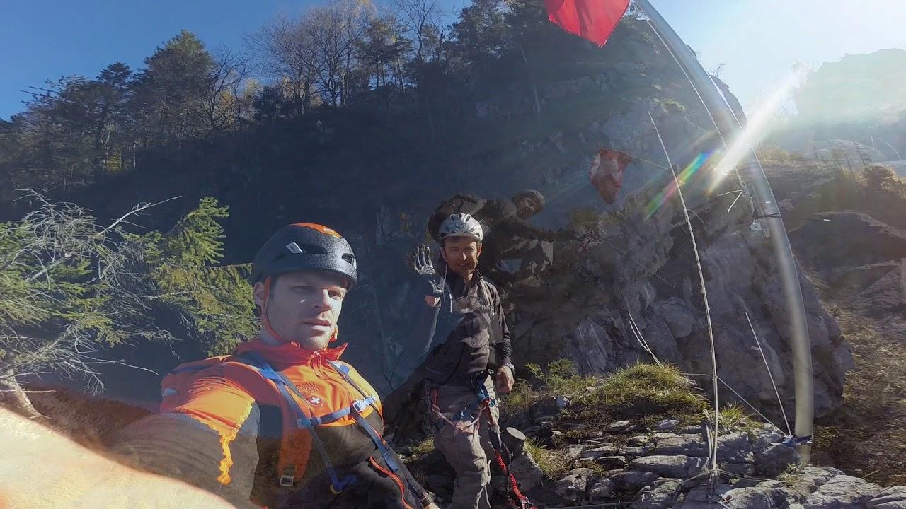 Klettersteig Netstal : Klettersteig check der heini holzer b c