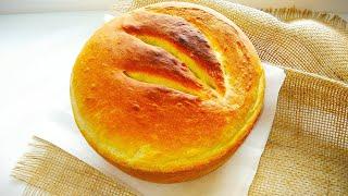 Домашний Ароматный Хлеб Самый простой Рецепт