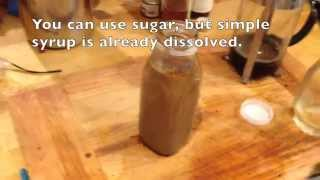 How to make an iced coffee drink in a bottle for pennies.
