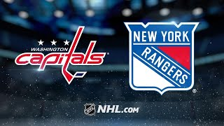Ovechkin, Grubauer lead Capitals past Rangers, 4-2