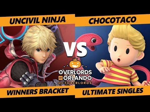 Overlords SSBU - Uncivil Ninja (Shulk) Vs. ChocoTaco (Lucas) Smash Ultimate Tournament W. Bracket