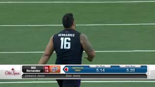 Mike Mayock compares Will Hernandez to Richie Incognito | Mar 2, 2018