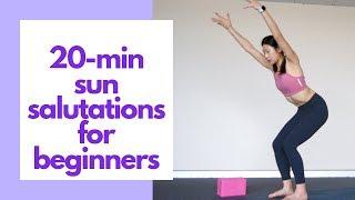 20-Minute Sun Salutation A u0026 B for Beginners