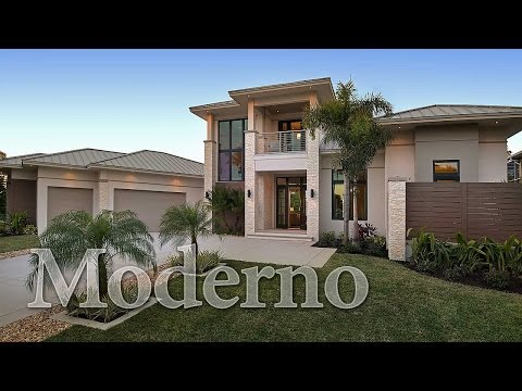 Moderno, a Contemporary Home Plan