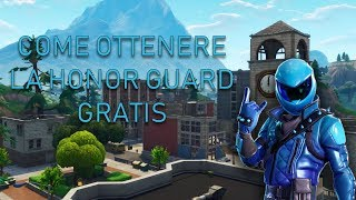 HOW TO GET THE SKIN HONOR GUARD FREE - FORTNITE ITA [WORKING MARCH 2019]