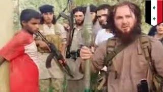 داعش تعدم سجيناً سورياً بقذيفة صاروخية