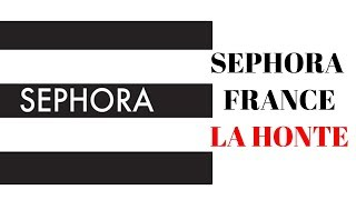 SEPHORA FRANCE LA HONTE/LIVE REACTION