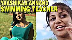 Yashika Anand As Swimming Teacher In Kavalai Vendam Jiiva Movie | IAMK YASHIKA|