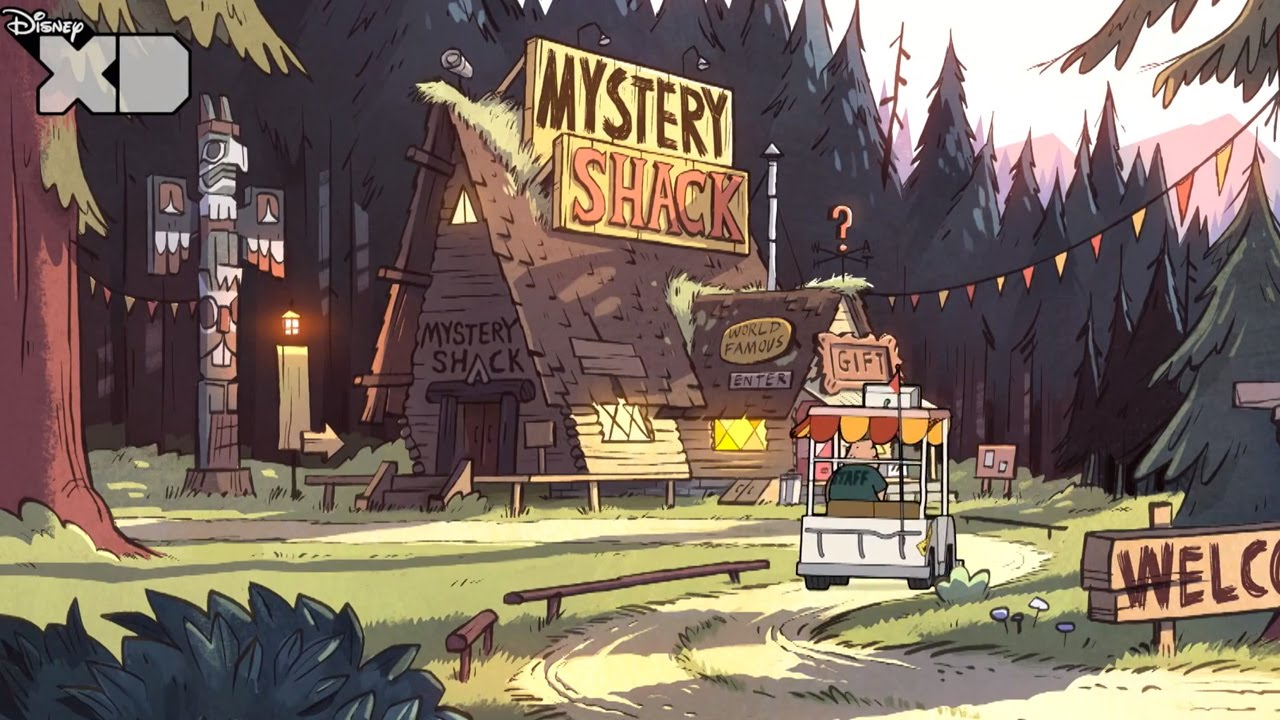 Gravity Falls Wallpaper Full Hd Gravity Falls The Mystery Shack Official Disney Xd Uk