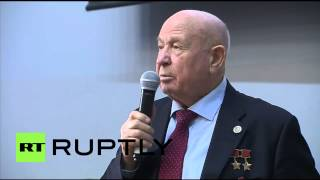 Russia: Soviet cosmonaut Leonov recollects humankind's first ever spacewalk
