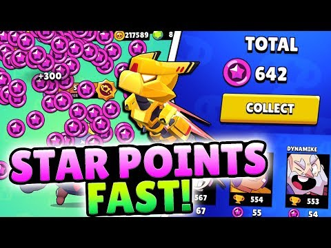 HOW TO GET STAR POINTS FAST IN BRAWL STARS!