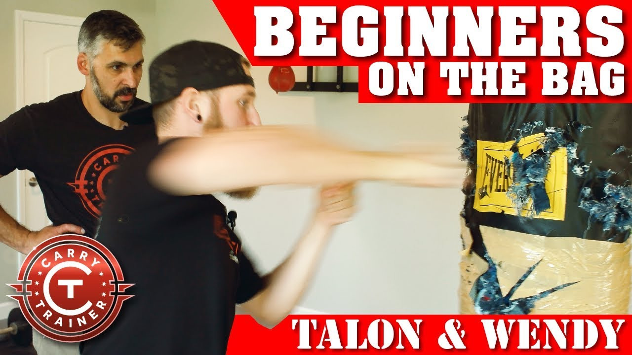 Beginners on the Bag – Col. Blade Basics with Talon & Wendy