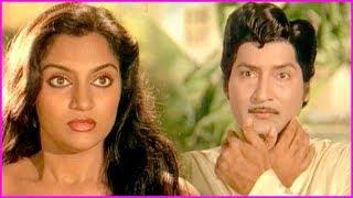 Sobhan Babu And Madhavi Bathroom Scenes - Balidanam Movie Comedy Scenes