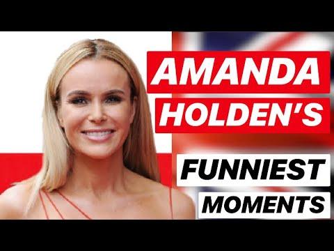 AMANDA HOLDEN'S FUNNIEST MOMENTS