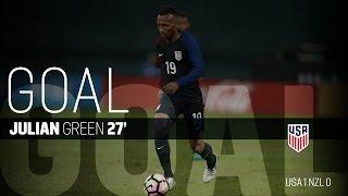 MNT vs. New Zealand: Julian Green Goal - Oct. 11, 2016