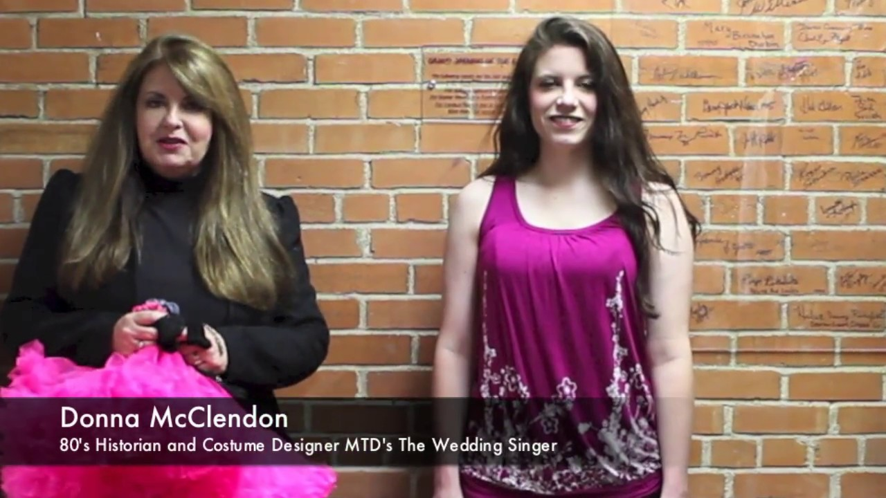 MTDs The Wedding Singer Flash Back To The 80s Fashion