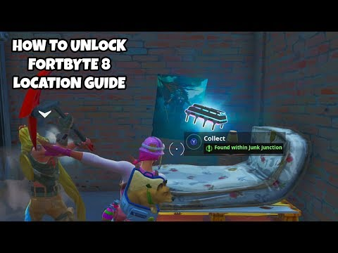 How To Unlock Fortbyte 8 Location Guide | Found In Junk Junction