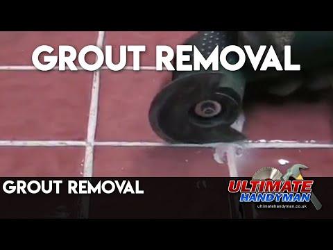 grout removal youtube. Black Bedroom Furniture Sets. Home Design Ideas