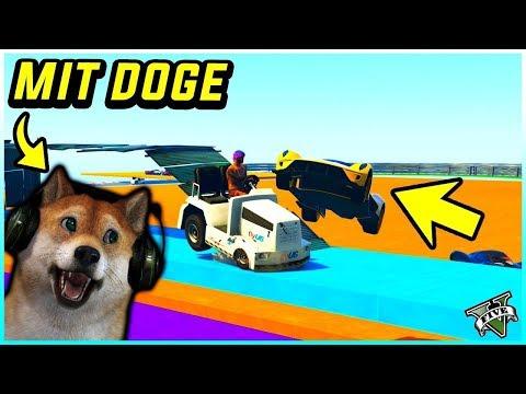 😱 DU und DOGE spielen zusammen KRASSE GTA 5 Online JOBS! 🐶