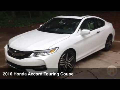 2016 Honda Accord Touring Coupe: Not A Boring Family Car