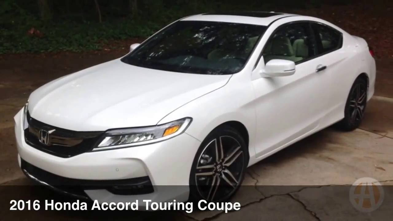 2016 Honda Accord Touring Coupe Not A Boring Family Car