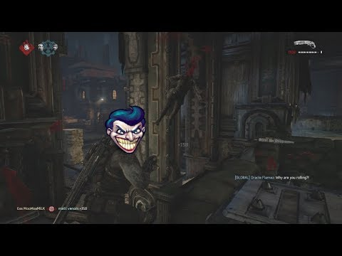 GEARS OF WAR 4 - 💥FUNNY MOMENTS EP.1💥 BEST HEADSHOT EVER?