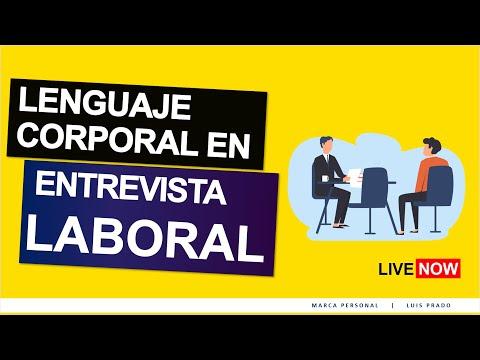 LENGUAJE corporal en la ENTREVISTA de TRABAJO (con Ariel Diaz) from YouTube · Duration:  4 minutes 42 seconds