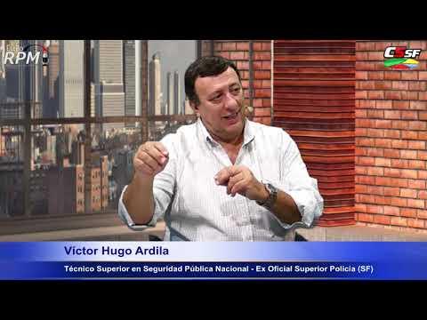 Víctor Hugo Ardila - Técnico Sup. en Seguridad Pública Nacional - Ex Oficial Superior Policía (SF)