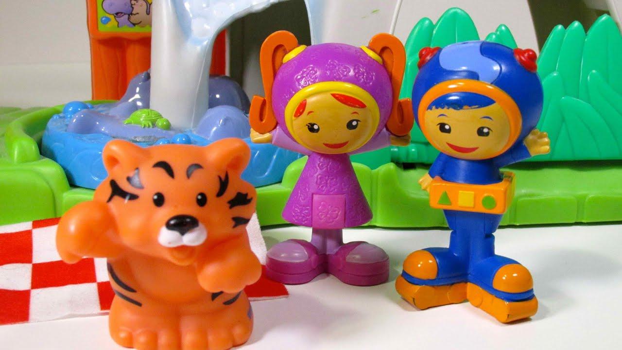 "TEAM UMIZOOMI Toy Parody Video ""Team UmiZoomi Saves Tiger ..."