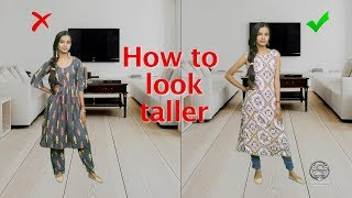 HOW TO LOOK TALLER WITHOUT HEELS