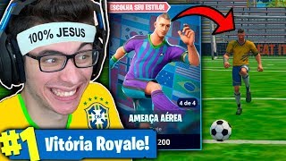 I BOUGHT NEYMAR'S SKIN IN THE WORLD CUP AND MITEI! Fortnite: Battle Royale