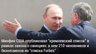Какой олигарх 'надавит' на Путина из-за 'Кремлёвского доклада'?