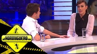 Anette Michel en entrevista con Mau