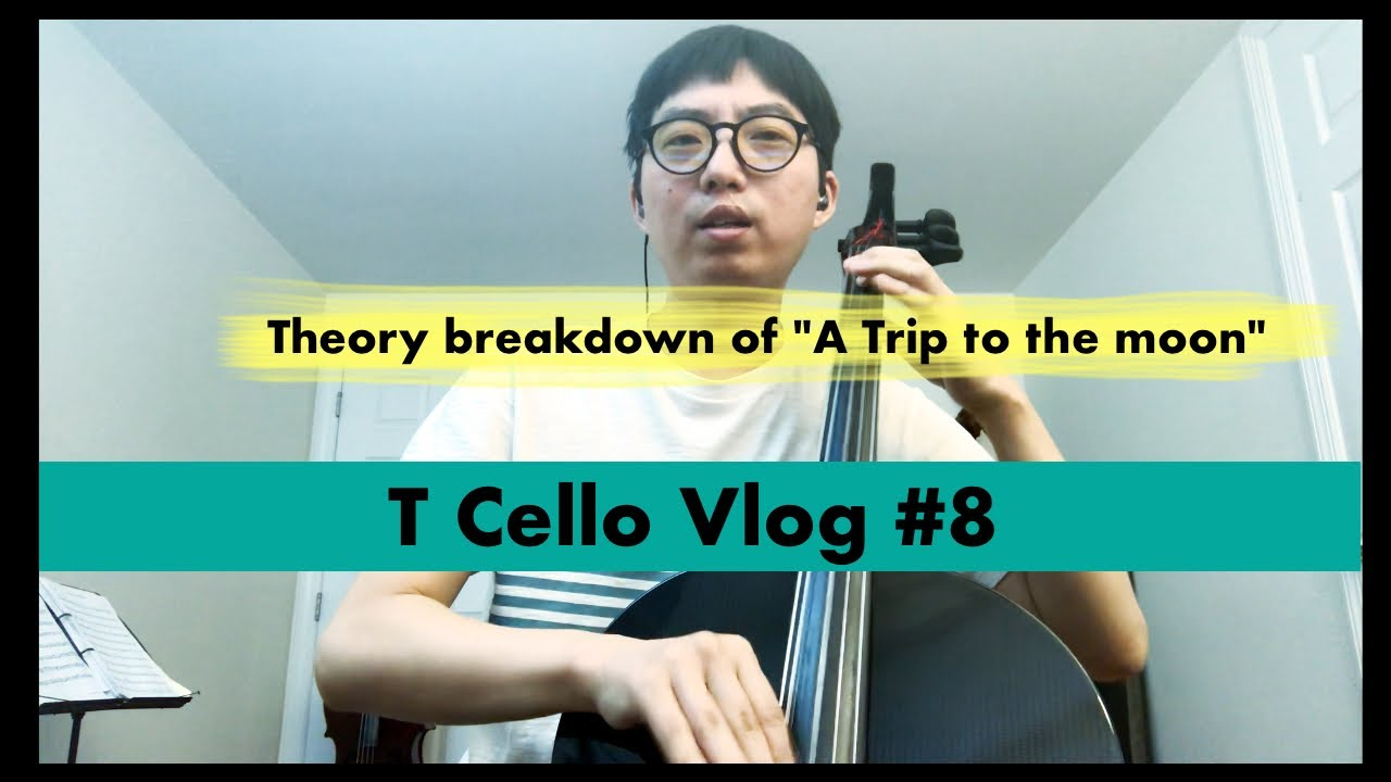 "[T Cello Vlog #8] - Theory breakdown of ""A Trip to the Moon"" - pentatonic, blues scales, modes"