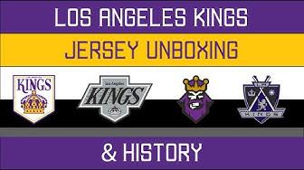 LA Kings Jersey Unboxing & History