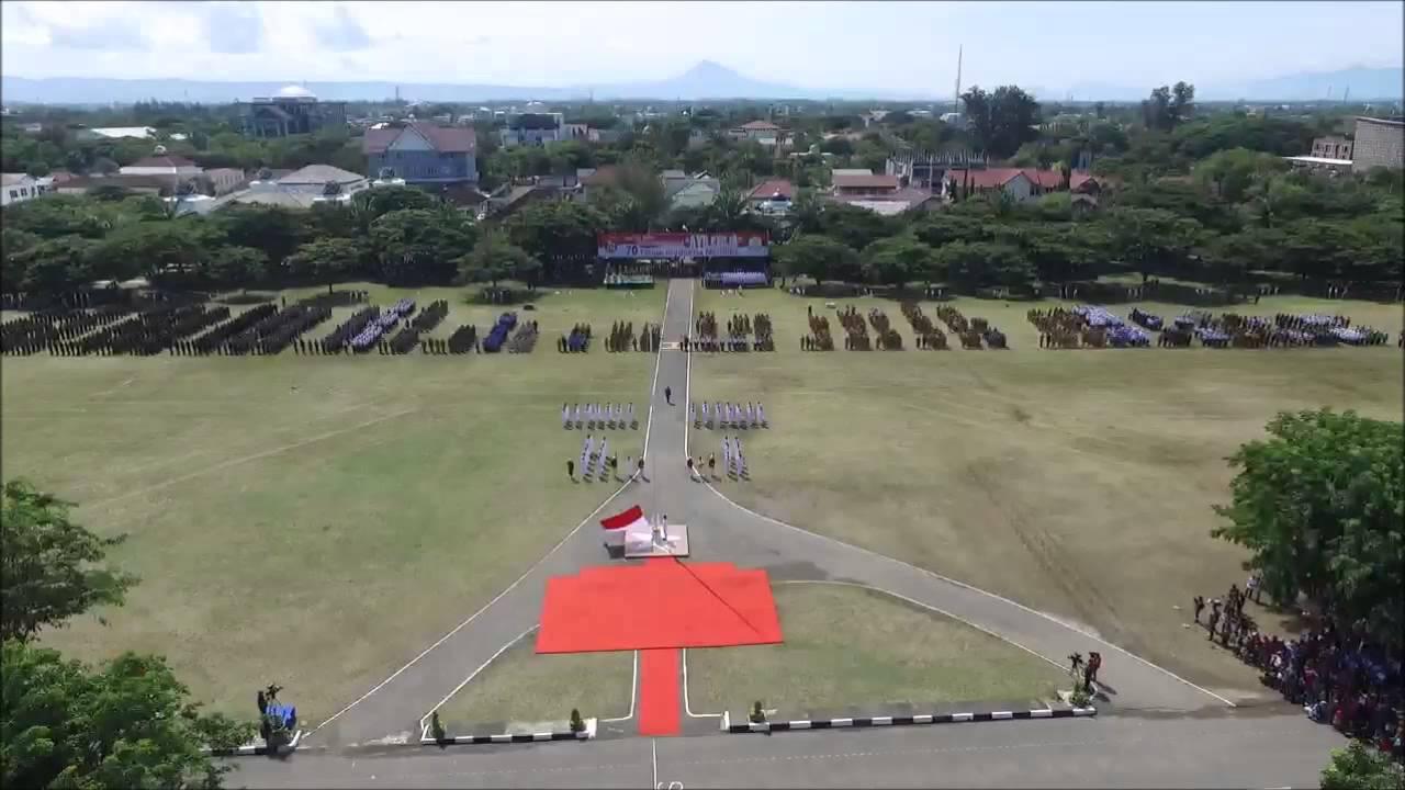 Upacara 17 Agustus 2015 Blang Padang Banda Aceh Youtube