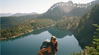LIVING IN SEATTLE: camṗing and hiking in washington