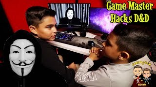 GAME MASTER HACKS D&D SQUAD | DAMIAN & DEION IN MOTION