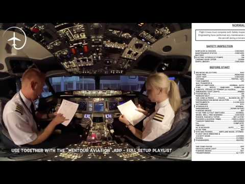 How to read a Boeing checklist