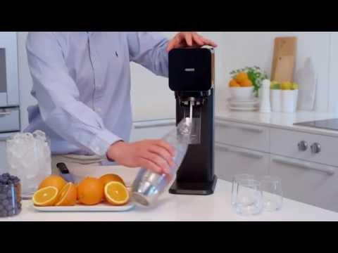 Blueberry Orange Sparkling Water from Sodastream