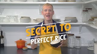 The Secret to Perfect Rice, with Justin Chapple - Le Creuset Rice Pot