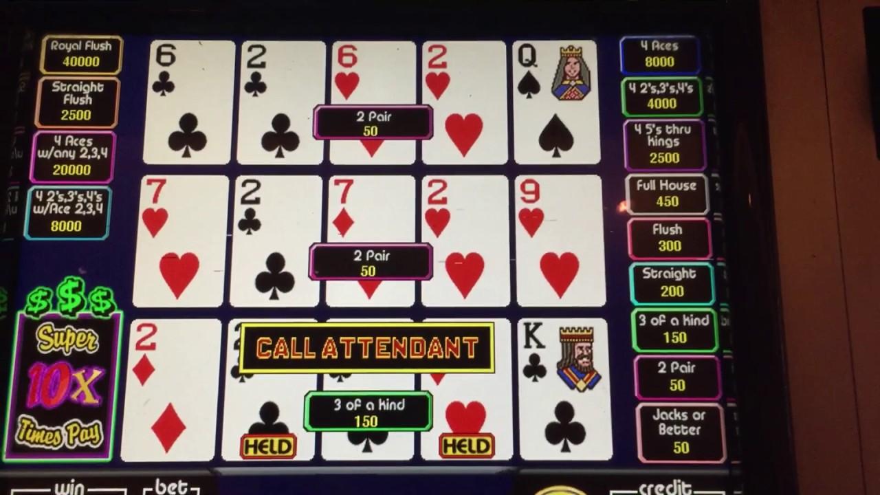 Super times poker machine multi demo slots